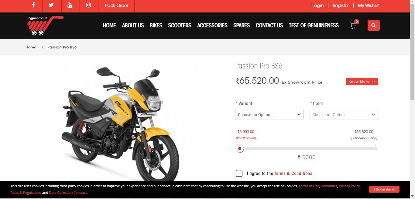 Hero MotoCorp Unveils eShop To Boost Sales In India