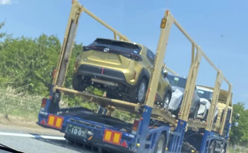 Toyota Yaris Cross Spotted