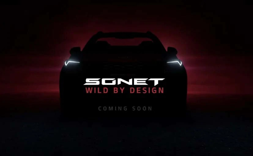 Kia Sonet Teased Ahead Of India Launch