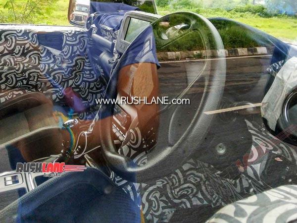 Mahindra Thar 2020 Spotted Testing