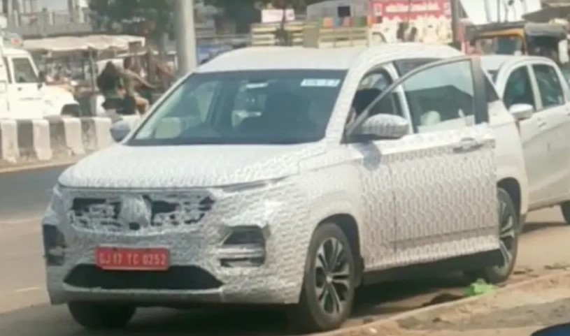 MG Hector 2021 Facelift Surfaces Again