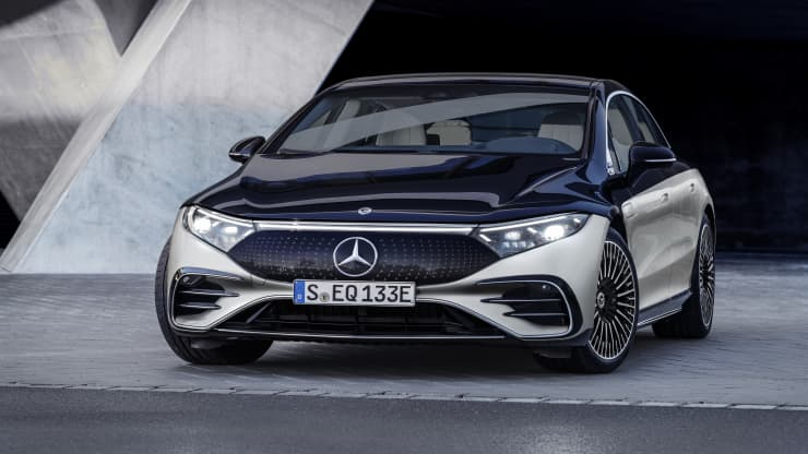 Mercedes-Benz EQS 2022 Unveiled