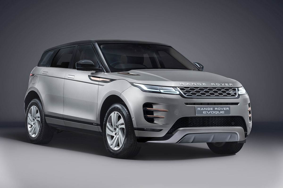 Range Rover Evoque Launched in India At Rs 64.12 Lakh