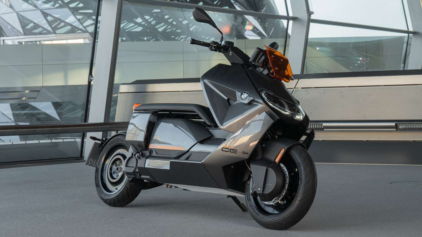 BMW CE 04 Electric Scooter Unveils in Production Form