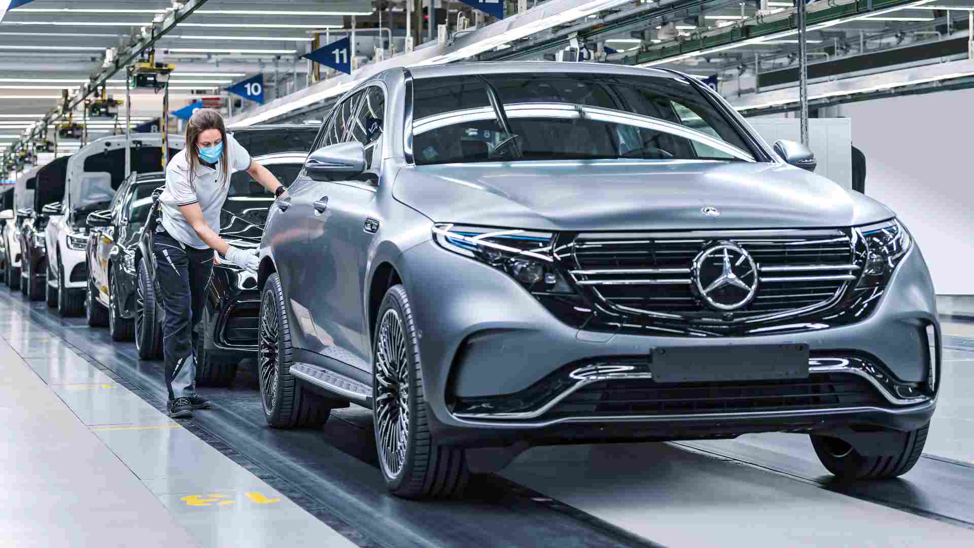 Mercedes Benz To Go All Electric By 2030