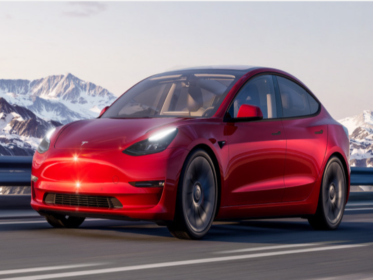 Tesla Model 3 Spotted In India Ahead Official Launch