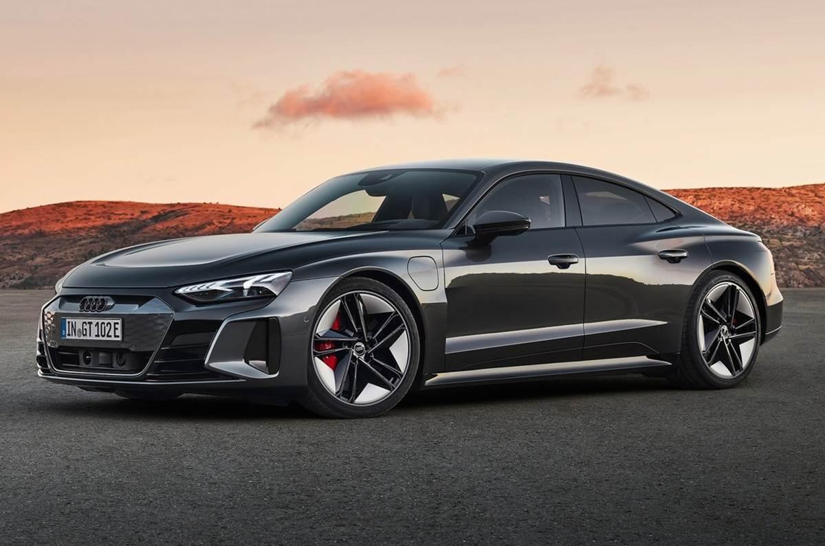 Audi e-tron GT Teased Ahead Of India Launch