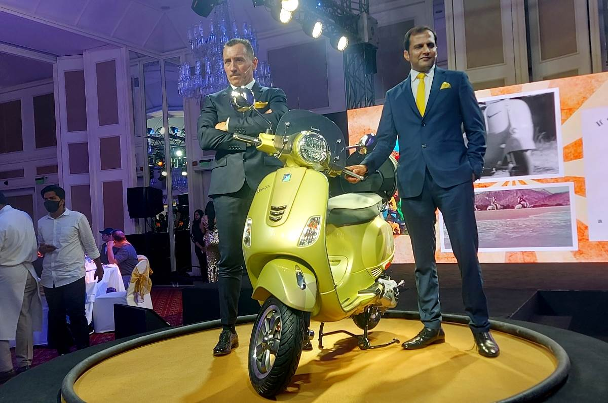 Vespa 75th Anniversary Edition Launched in India